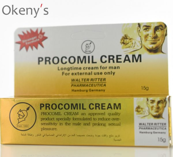 15ml Enlargement Cream Man Lasting Erection Sex Products Procomil Cream Keep Long Time Cream Extenal 15ML Men Delay Cream